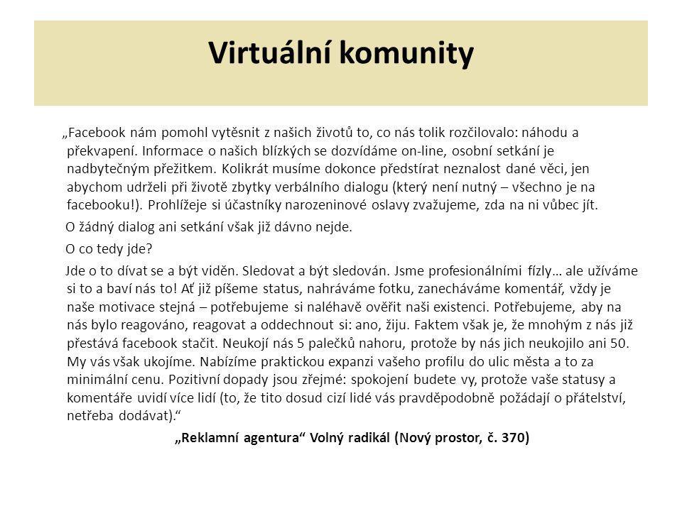 Virtuální komunity