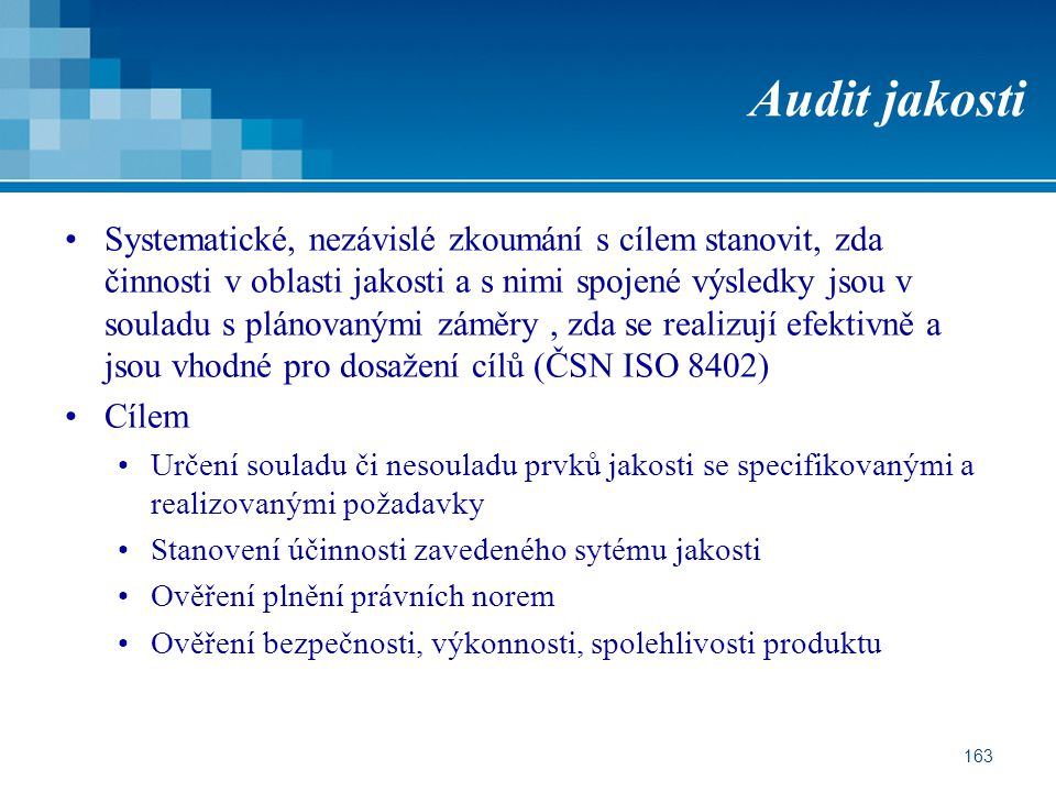 Audit jakosti