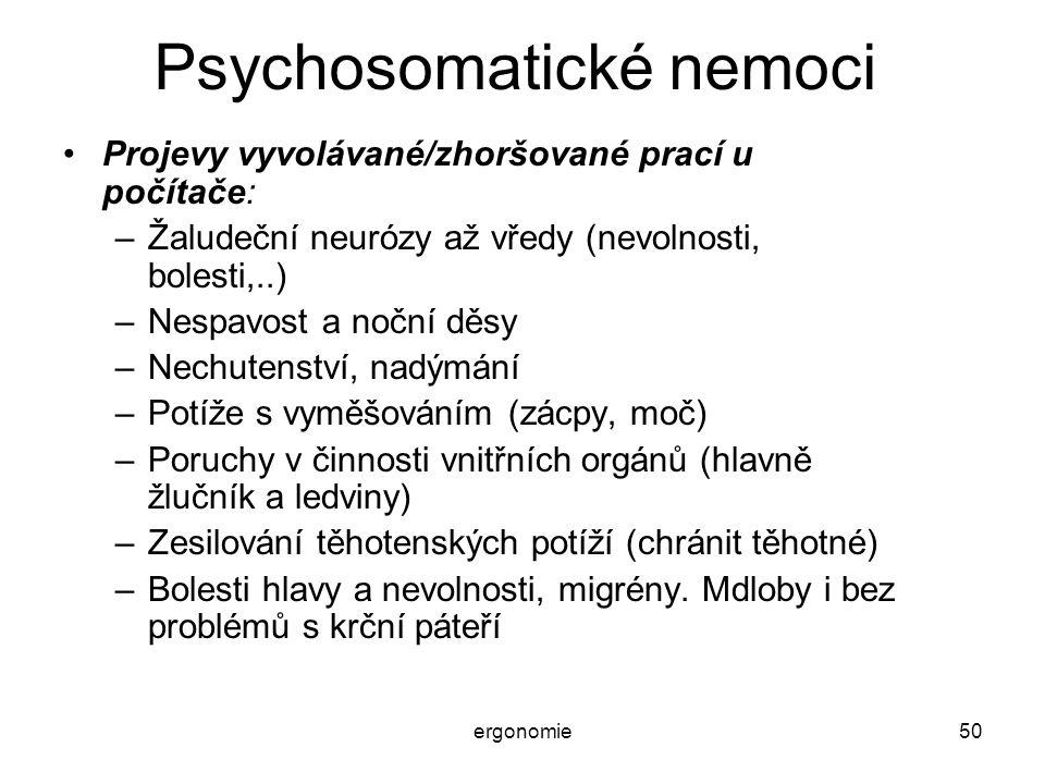 Psychosomatické nemoci