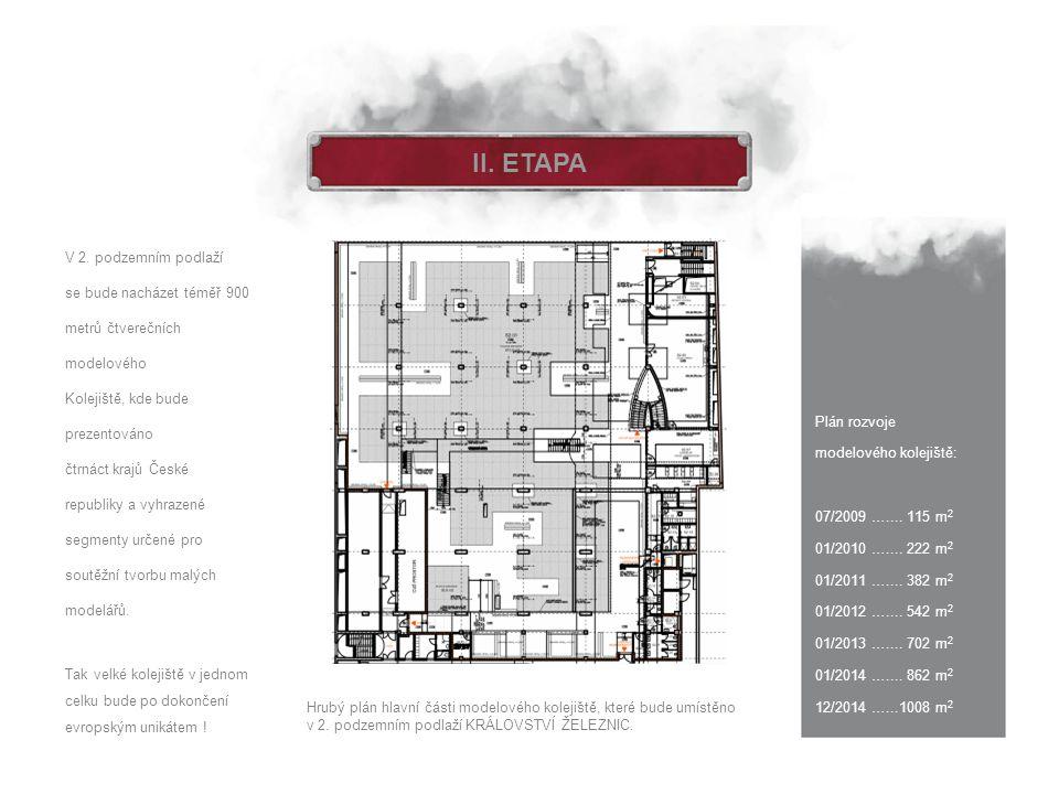 II. ETAPA V 2. podzemním podlaží
