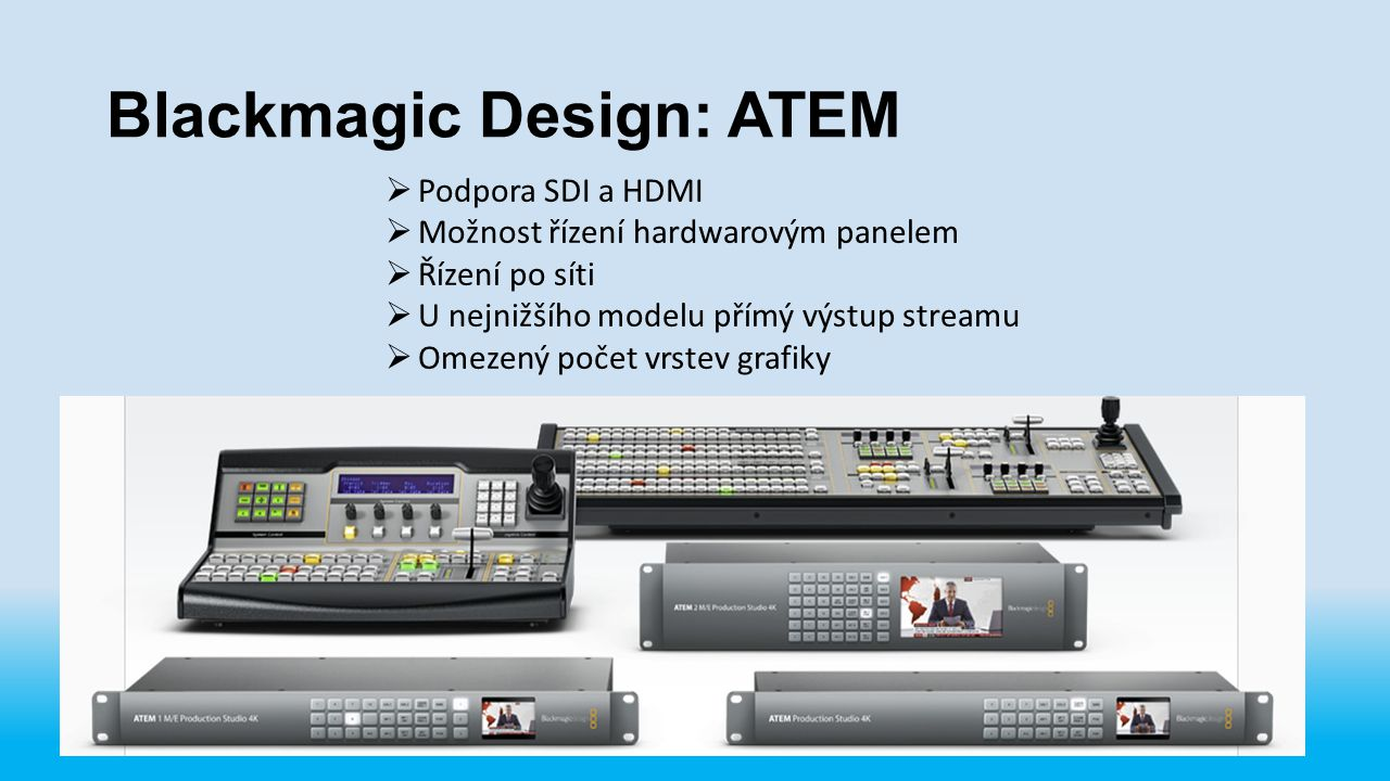 Blackmagic Design: ATEM