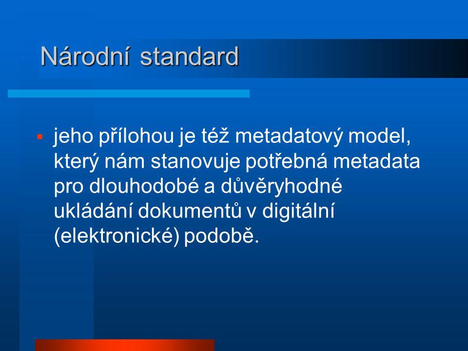 Národní standard