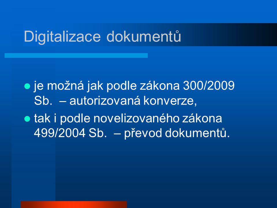 Digitalizace dokumentů