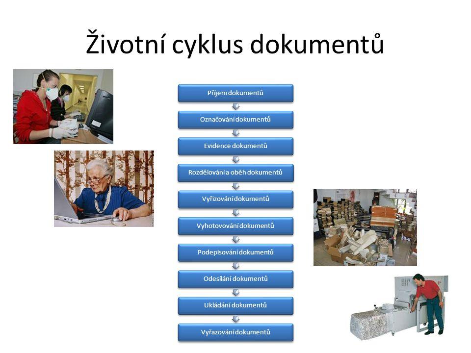 Životní cyklus dokumentů