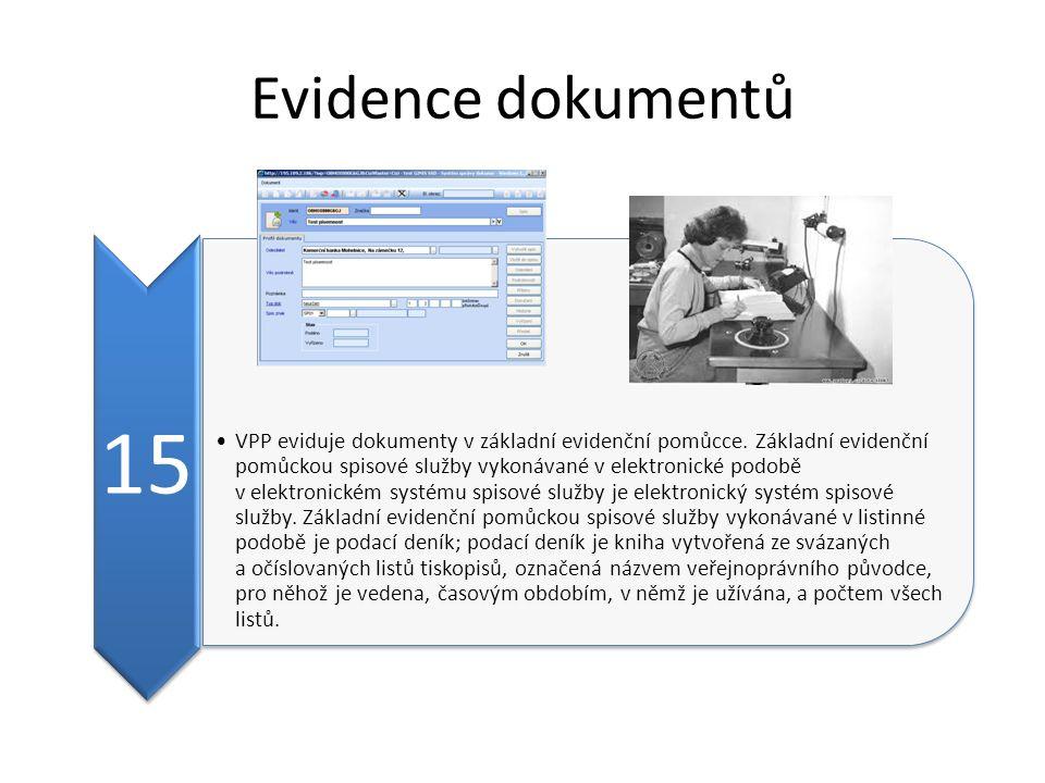 Evidence dokumentů 15.