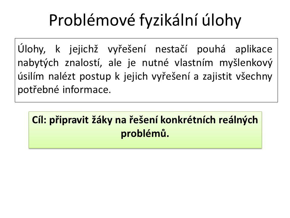 Problémové fyzikální úlohy