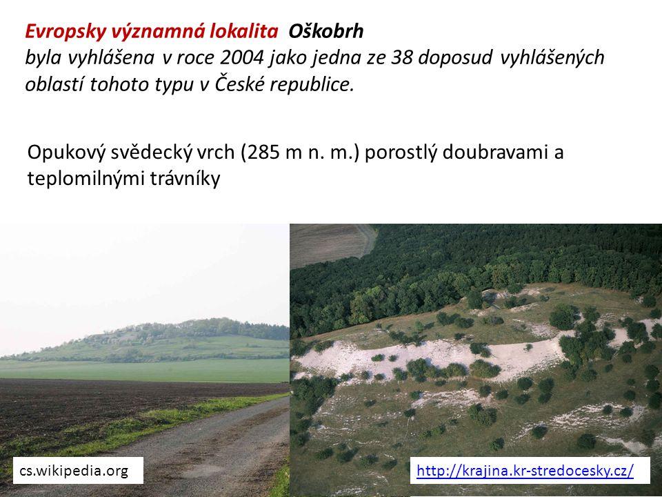 Evropsky významná lokalita Oškobrh