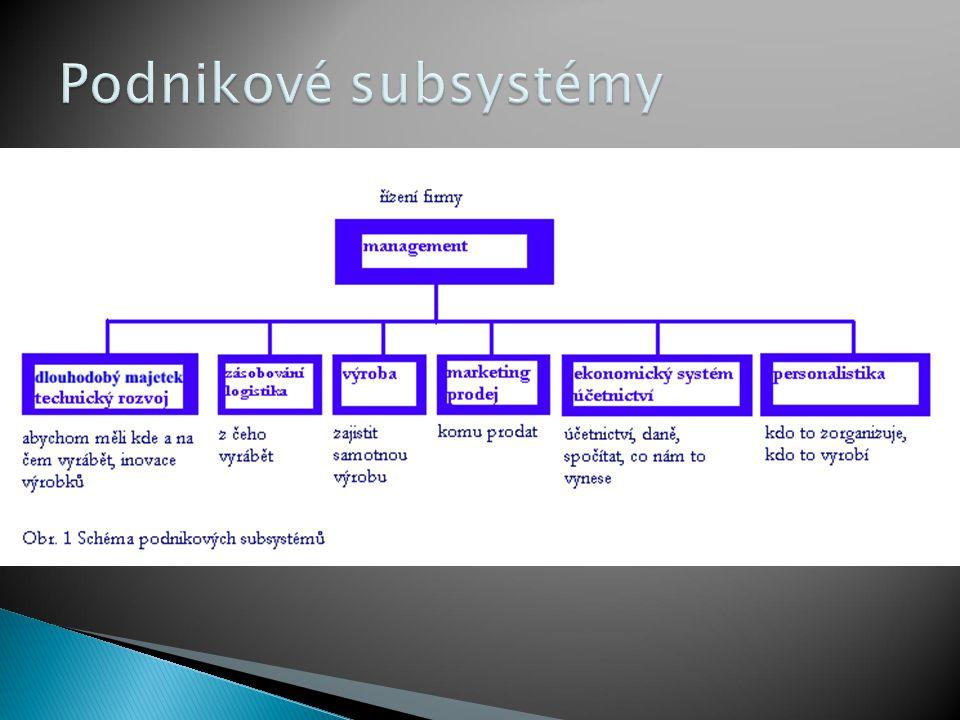 Podnikové subsystémy