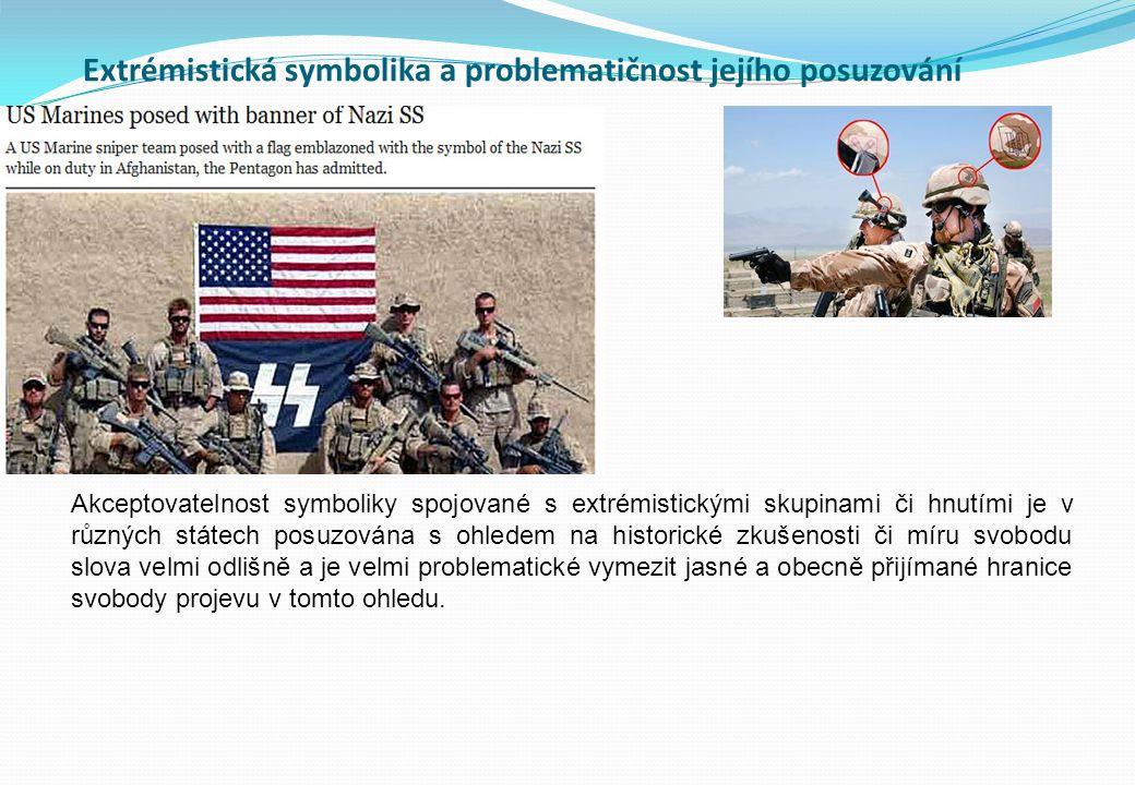 Extrémistická symbolika a problematičnost jejího posuzování