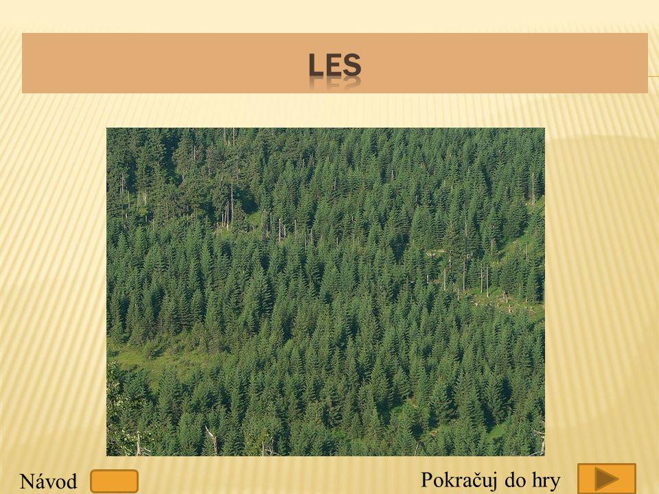 Les Návod Pokračuj do hry