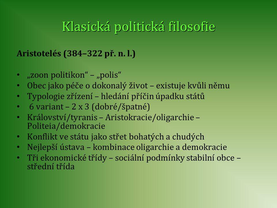Klasická politická filosofie