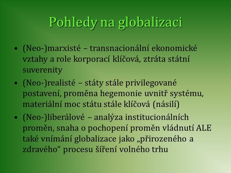 Pohledy na globalizaci