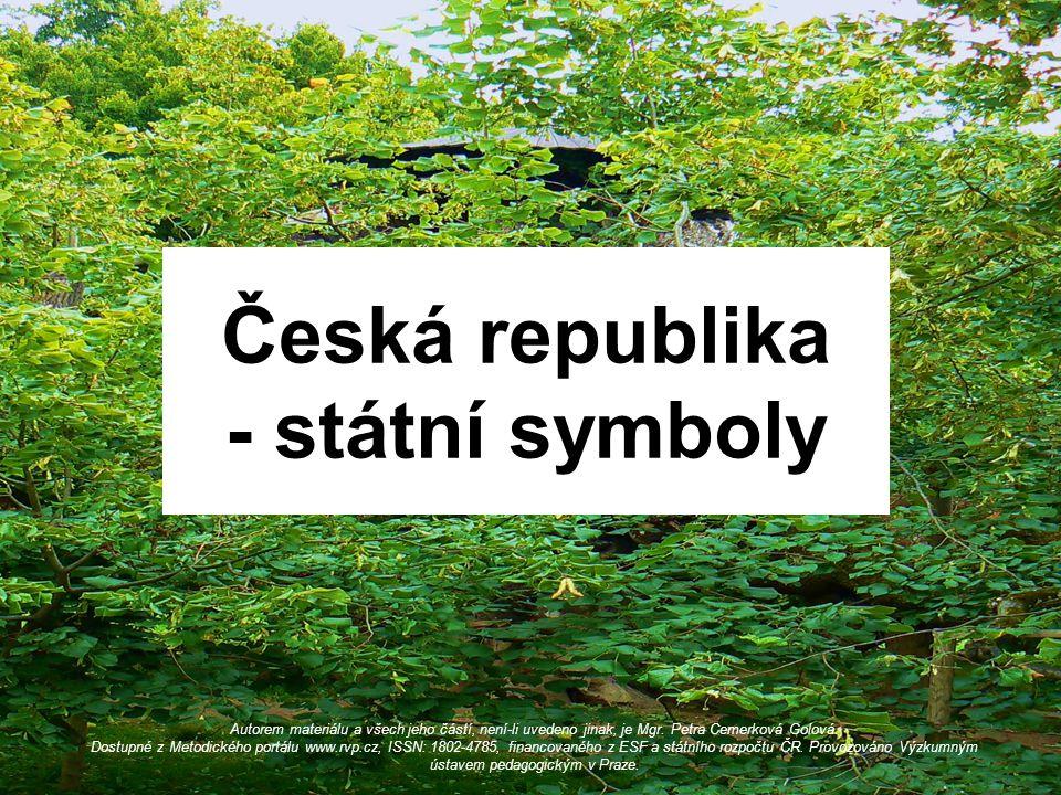 Česká republika - státní symboly