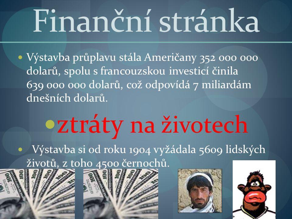 Finanční stránka ztráty na životech