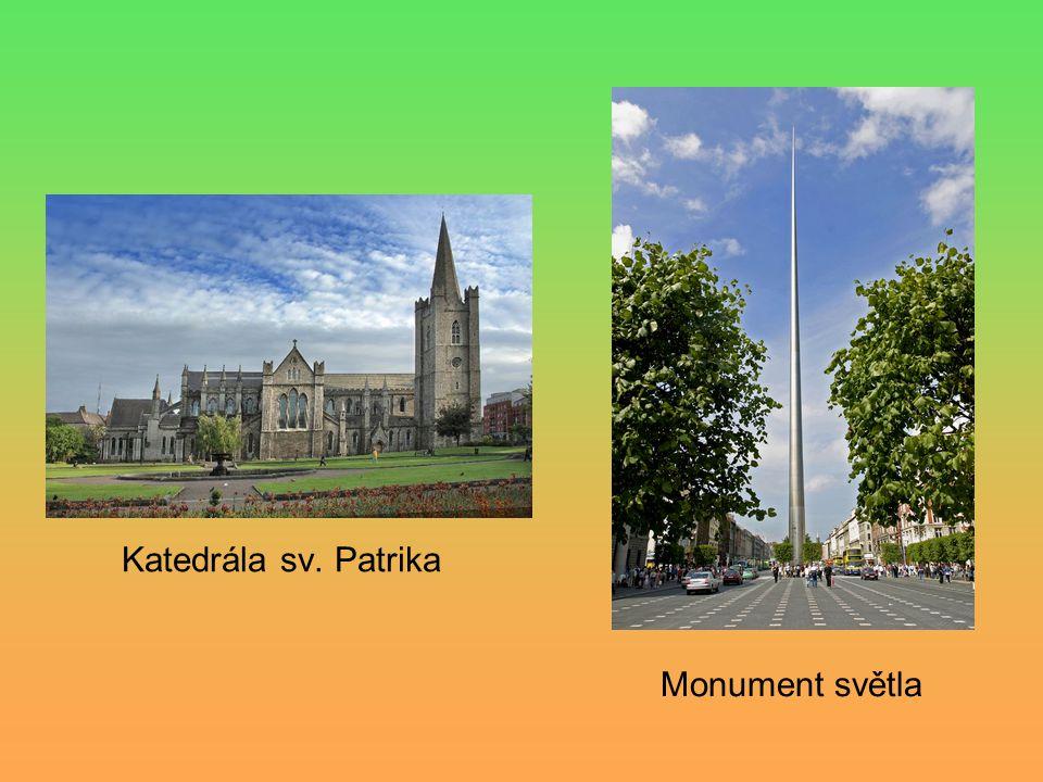 Katedrála sv. Patrika Monument světla