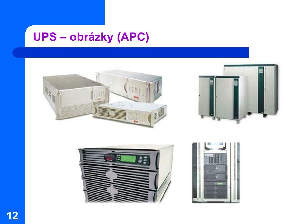 UPS – obrázky (APC)