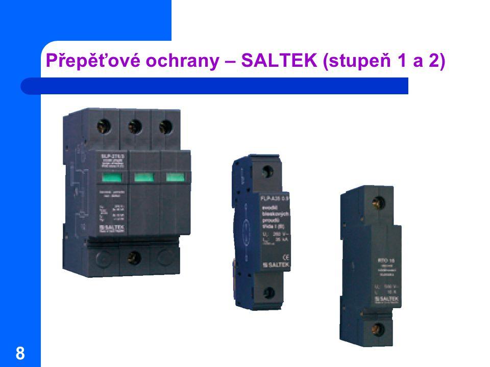 Přepěťové ochrany – SALTEK (stupeň 1 a 2)