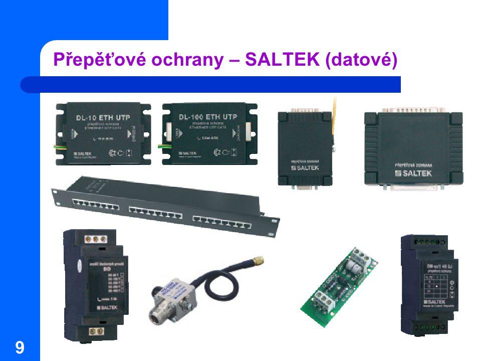 Přepěťové ochrany – SALTEK (datové)