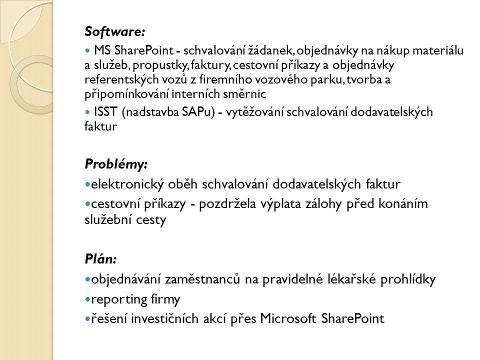 elektronický oběh schvalování dodavatelských faktur