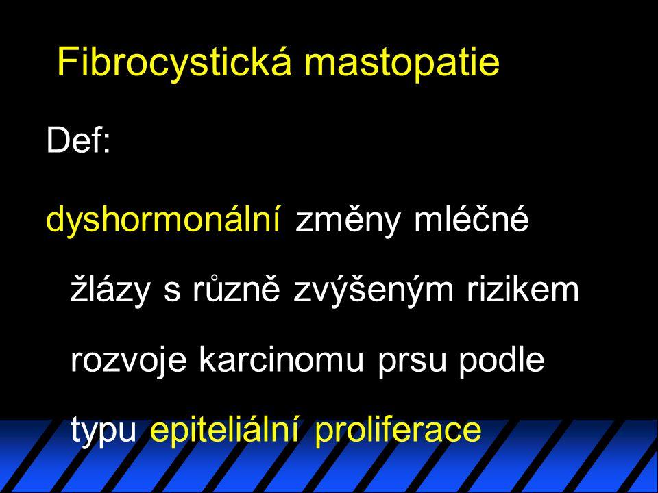 Fibrocystická mastopatie