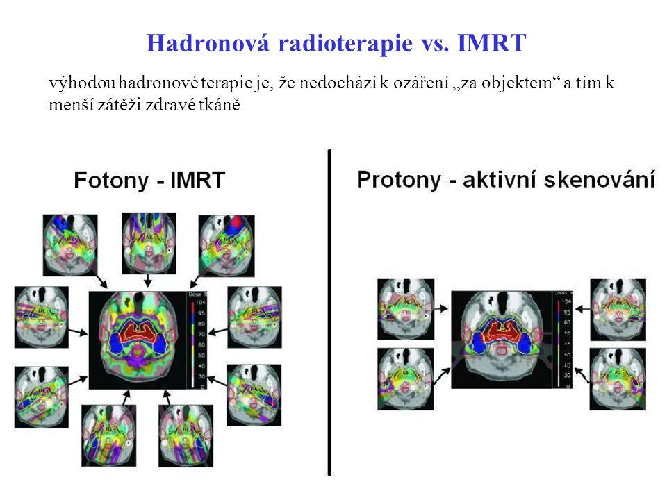 Hadronová radioterapie vs. IMRT