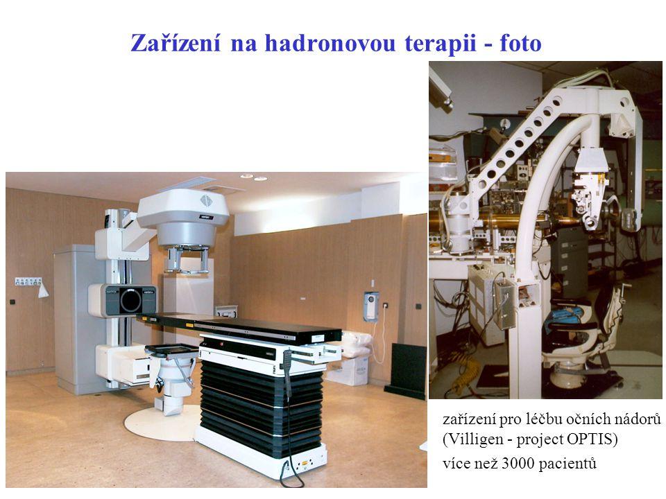 Zařízení na hadronovou terapii - foto