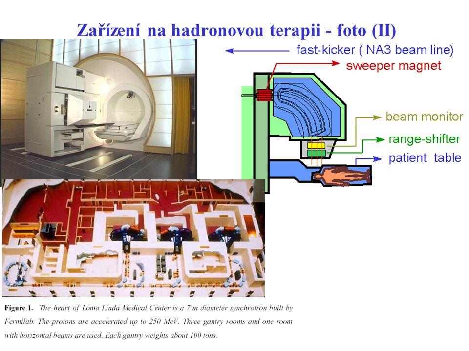 Zařízení na hadronovou terapii - foto (II)