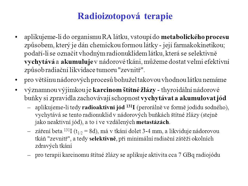 Radioizotopová terapie
