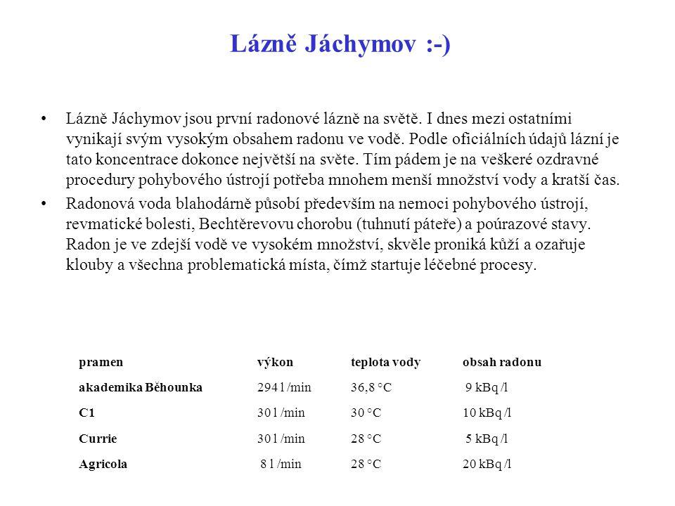 Lázně Jáchymov :-)