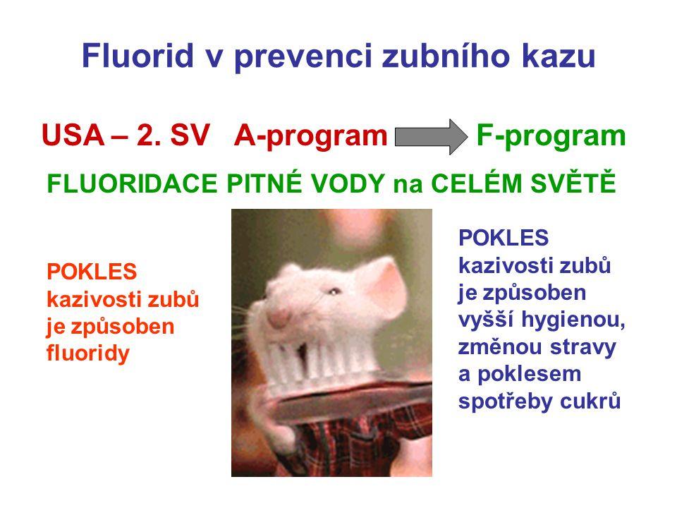 Fluorid v prevenci zubního kazu