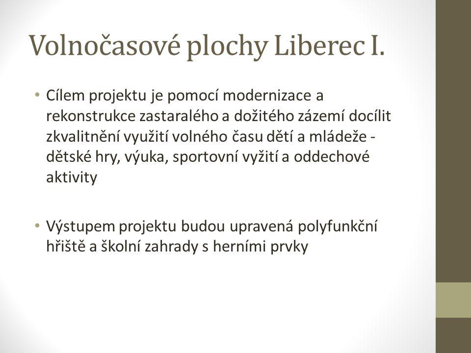 Volnočasové plochy Liberec I.