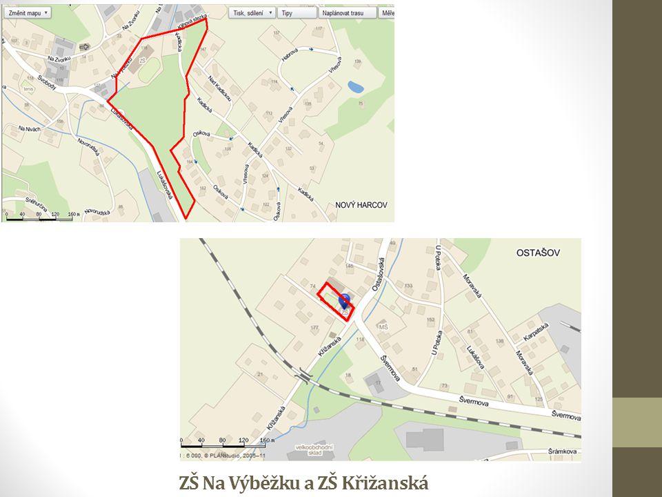 ZŠ Na Výběžku a ZŠ Křižanská