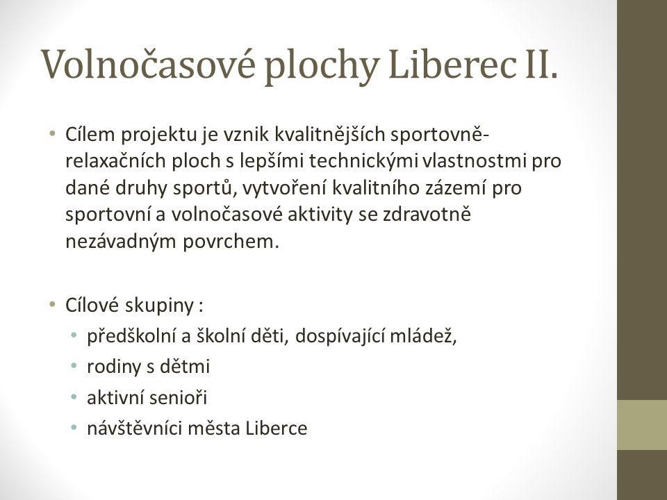 Volnočasové plochy Liberec II.
