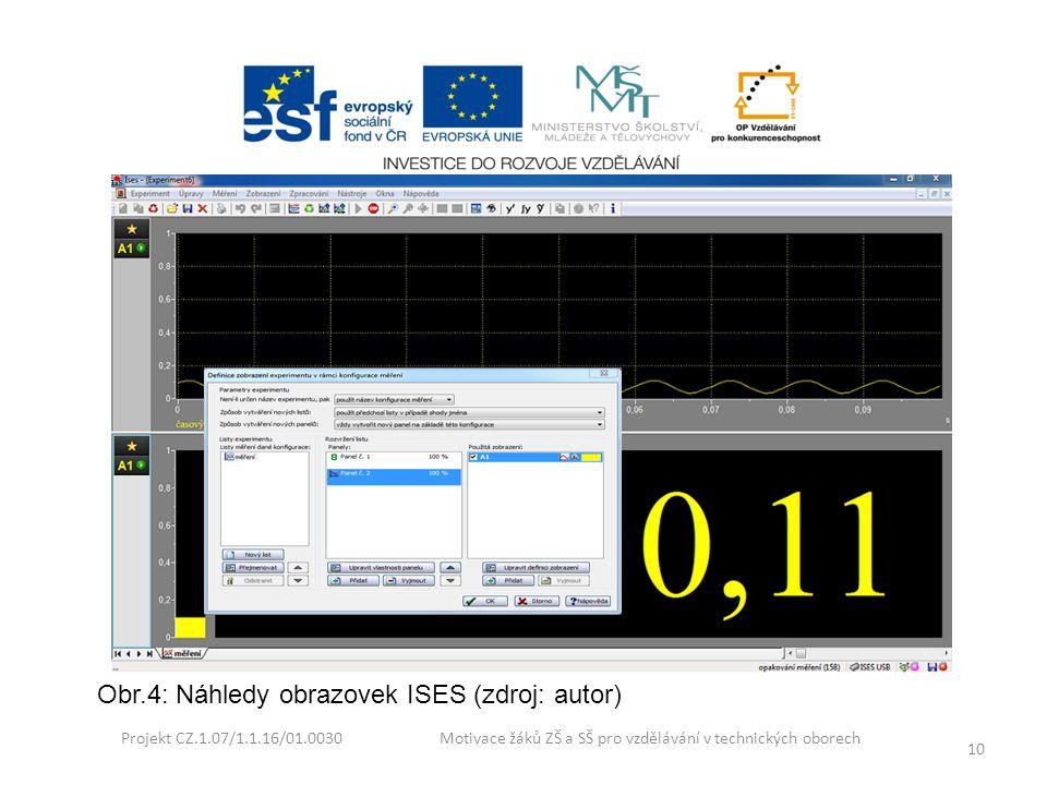 Obr.4: Náhledy obrazovek ISES (zdroj: autor)