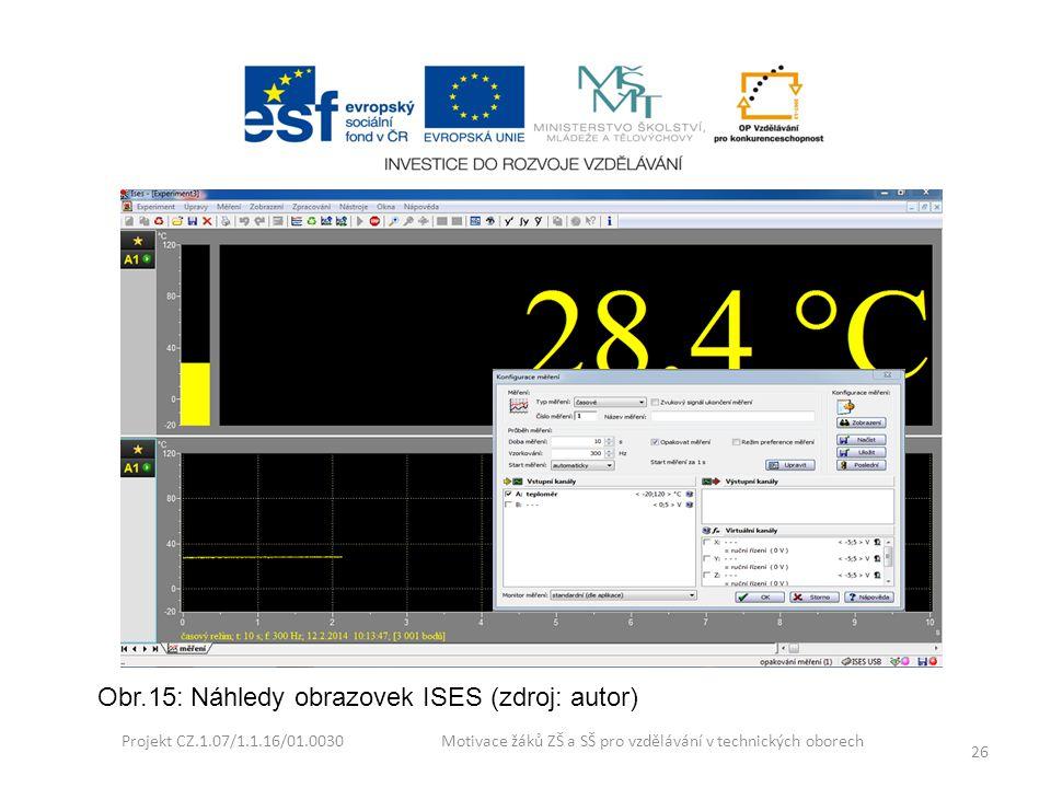 Obr.15: Náhledy obrazovek ISES (zdroj: autor)
