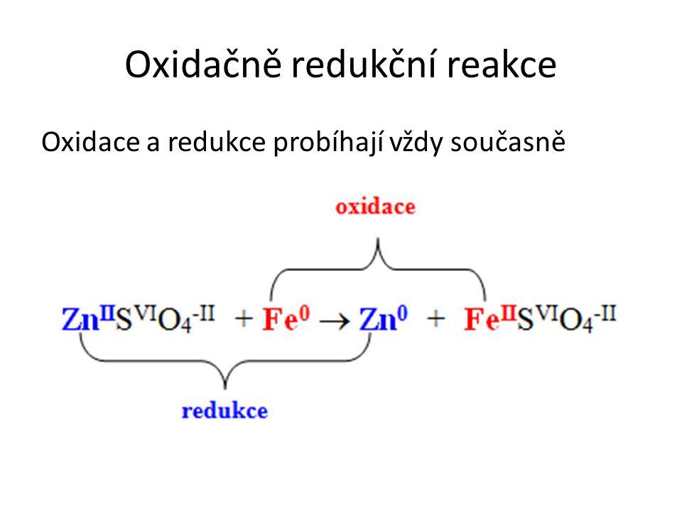 Oxidačně redukční reakce