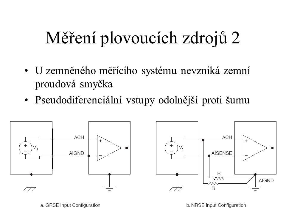 Měření plovoucích zdrojů 2