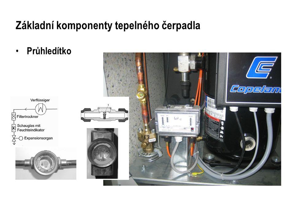 Základní komponenty tepelného čerpadla
