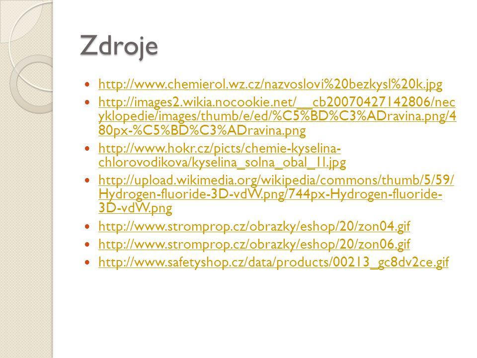 Zdroje http://www.chemierol.wz.cz/nazvoslovi%20bezkysl%20k.jpg