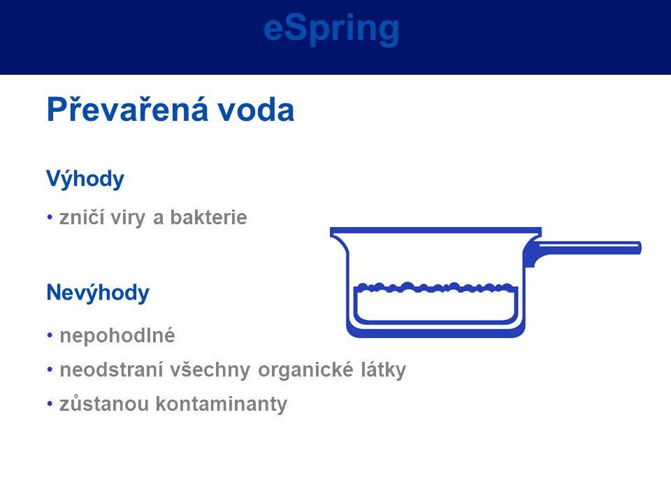 eSpring Převařená voda