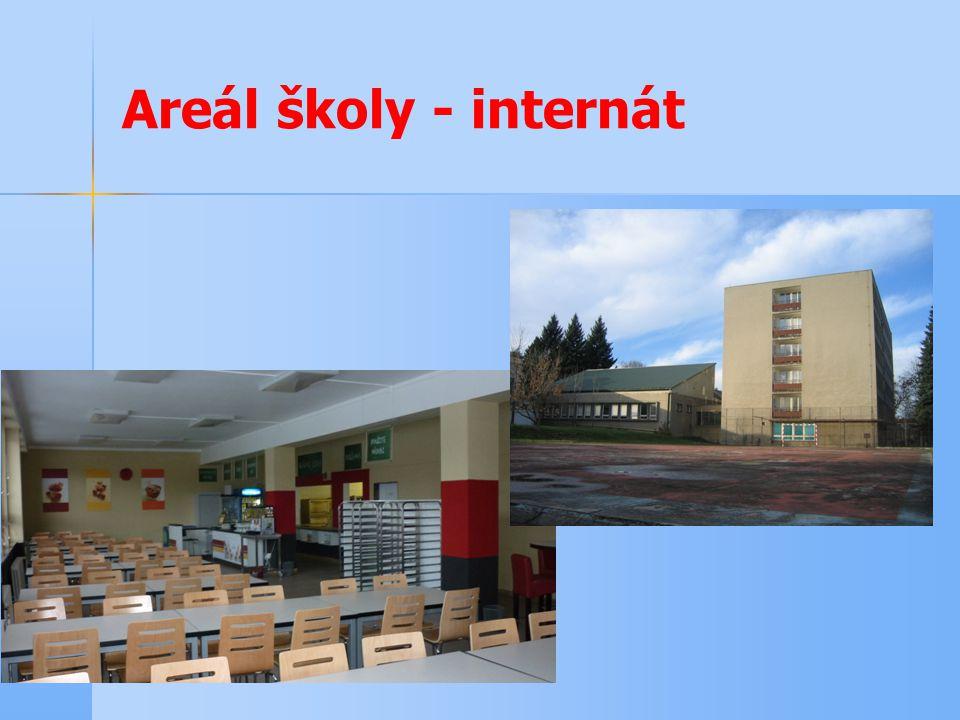 Areál školy - internát