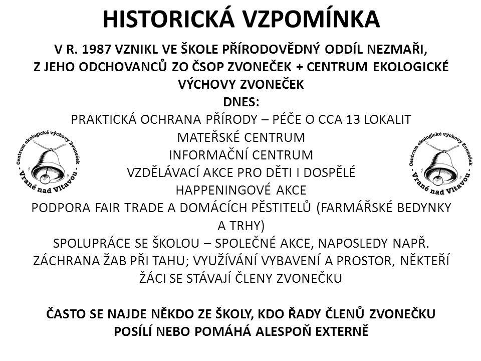 HISTORICKÁ VZPOMÍNKA V R