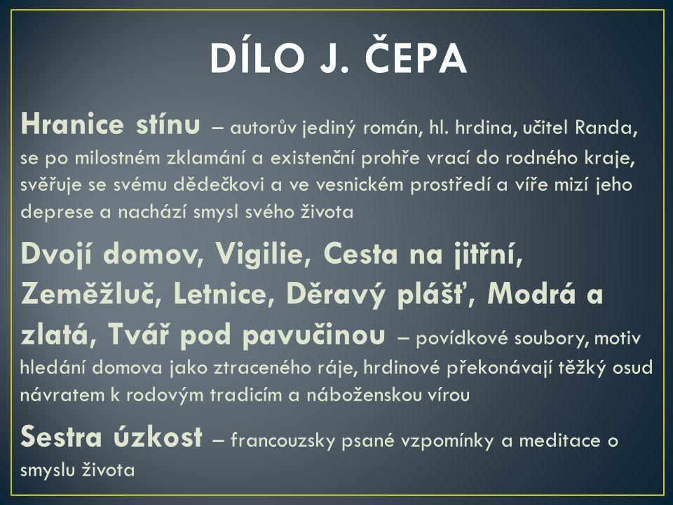DÍLO J. ČEPA