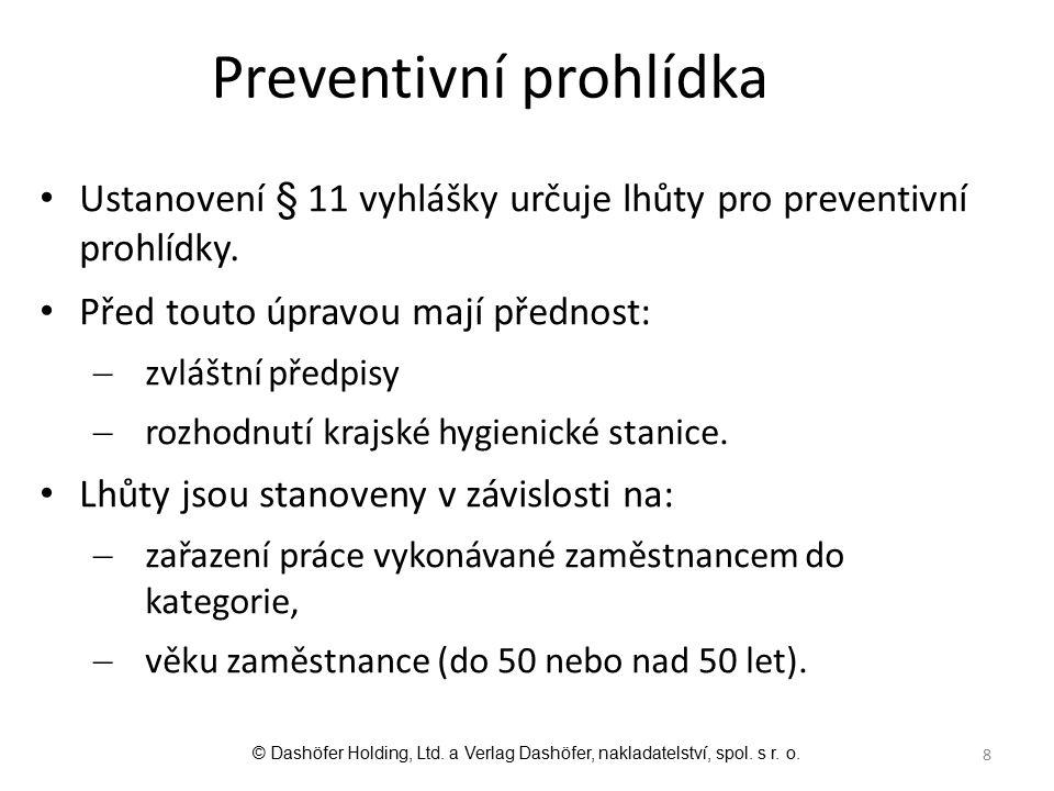 Preventivní prohlídka