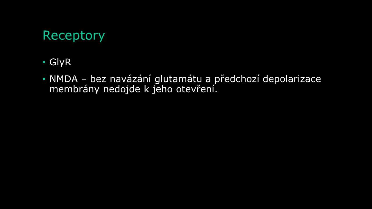 Receptory GlyR.