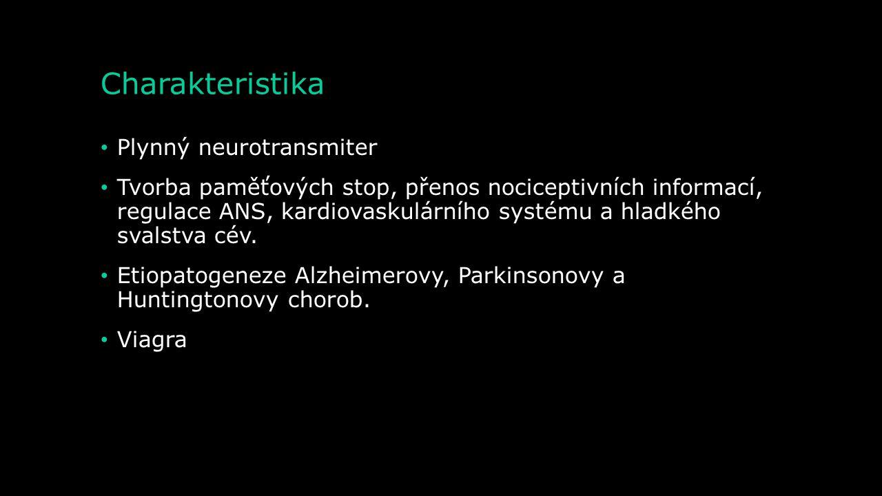 Charakteristika Plynný neurotransmiter