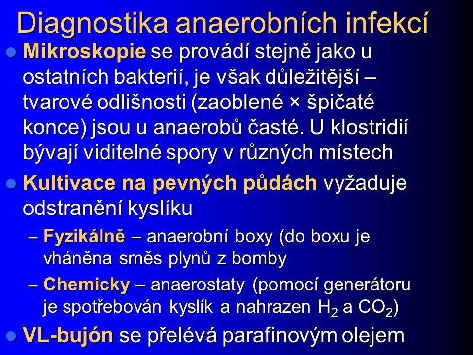 Diagnostika anaerobních infekcí