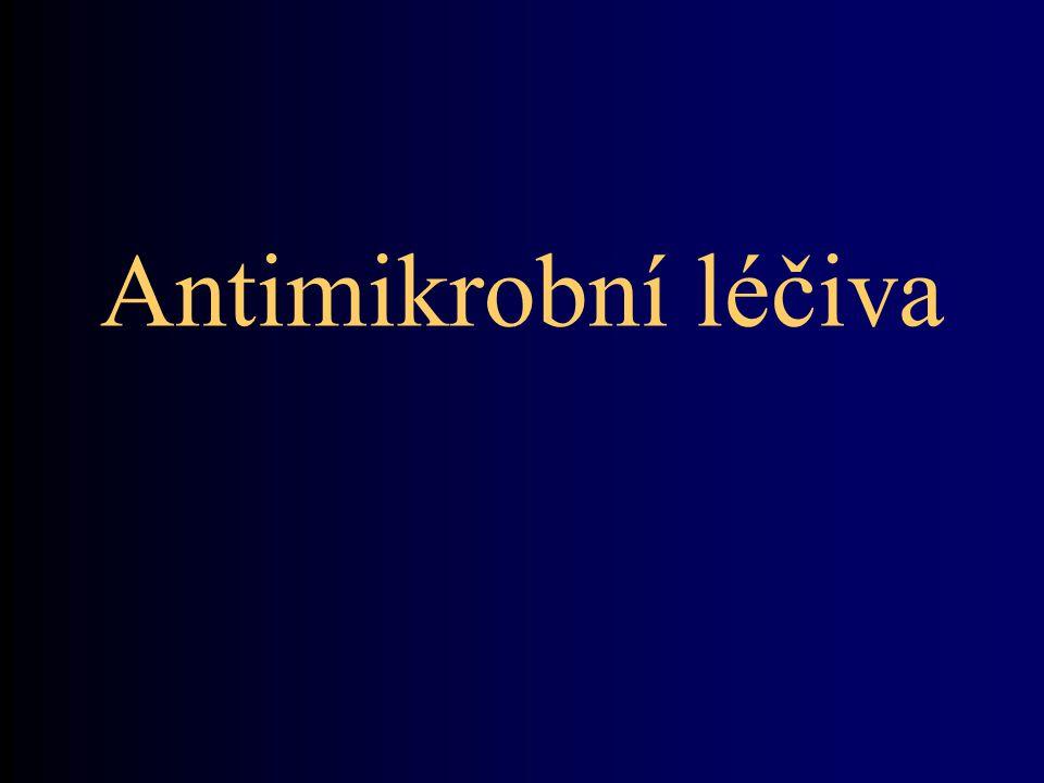 Antimikrobní léčiva