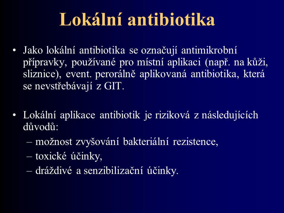 Lokální antibiotika