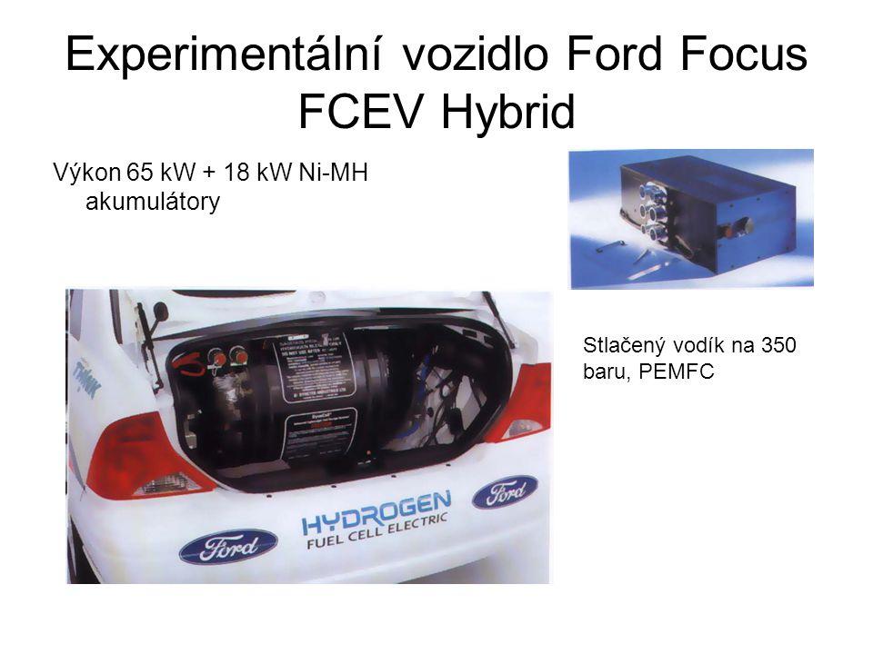 Experimentální vozidlo Ford Focus FCEV Hybrid